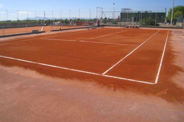 Pistas tenis de tierra batida