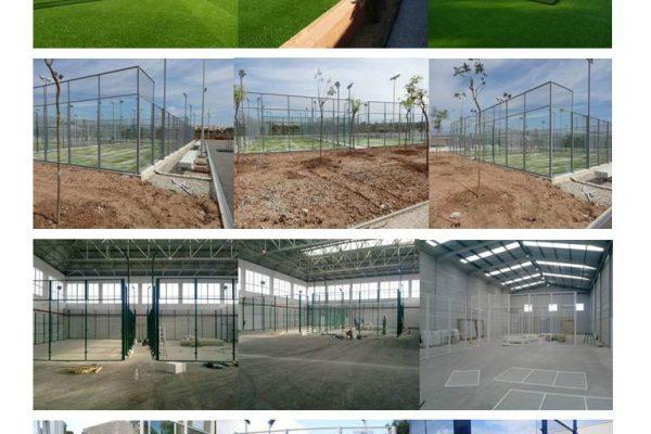 Coste y Precios de construcción de una Pista de Pádel desde 12000 €