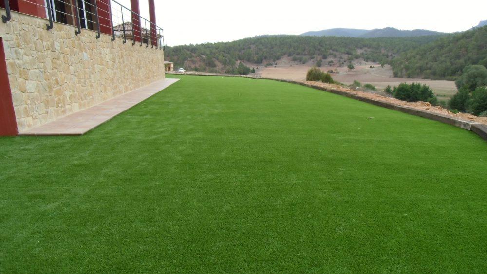Instalaci n de c sped artificial para jardiner a verdepadel - Cesped artificial jardineria ...